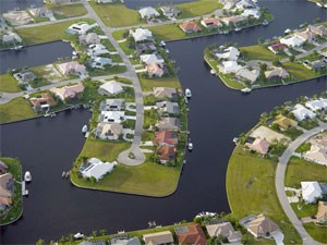 Punta Gorda includes Punta Gorda Isles, with its network of canals.