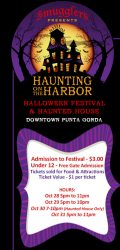 Halloween – Haunting on the Harbor Festival and Haunted House